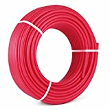 Popsport PEX Tubing 1/2 Inch PEX Potable Water Pipe 300FT Non-Barrier Pex Tubing for Residential and Light Commercial Hot and Cold Water Plumbing Applications (300FT)