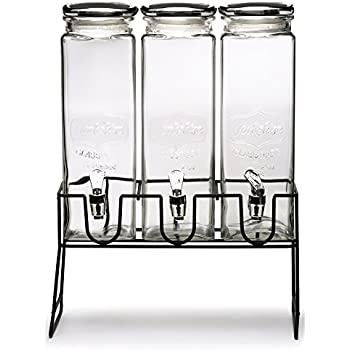 Amazon Com Circleware Tall Square Yorkshire Mason Glass