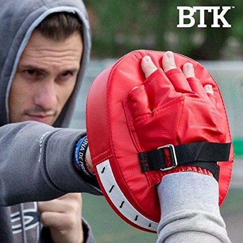 Manopla de boxeo profesional resistente y fácil de utilizar. Facilita el entrenamiento de hombres mujeres y niños. Ayuda a eliminar grasas y ganar masa muscular.Ideal para entrenar en casa o en el gimnasio.Disfruta de tu paos de artes marciales LAS COSAS