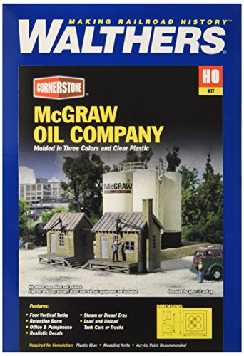 Walthers Cornerstone Series Kit HO Scale McGraw Oil Company