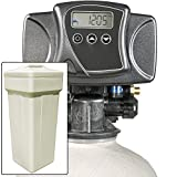 Iron Pro 48K Combination Water Softener & Iron Filter with Fleck 5600SXT Digital Metered Valve - Treat Whole House up to 48,000 Grains