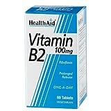 HealthAid Vitamin B2 (Riboflavin) 100mg 60 tablet