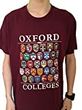 Colleges of Oxford University T-Shirt - Maroon - Univeristy of Oxford Apparel