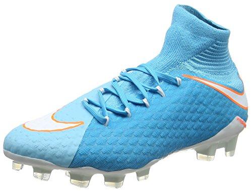 Femme Blue EU Bleu III de Chlorine Football Dynamic Blue 38 Fit NIKE Phatal Chaussures Polarized Hypervernom White FG Tart U4qwxBzZg