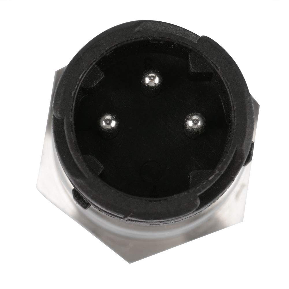 Akozon NPT 1//4 5V Sensore Trasduttore Pressione per Acqua Gasolio Filetto in Acciaio Inossidabile Sensore Pressione 0-0,5MPA