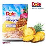 Dole Dried Pineapple Premium Philippine Pineapple 80g 48 packs 1 Box Retail Ready