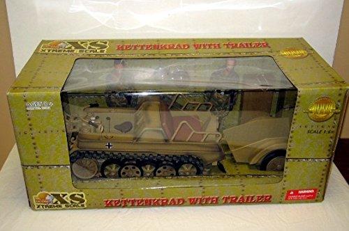 ULTIAMTE SOLDIER XS 1/6th WW2 GERMAN KETTENKRAD W/TRL & 2 -