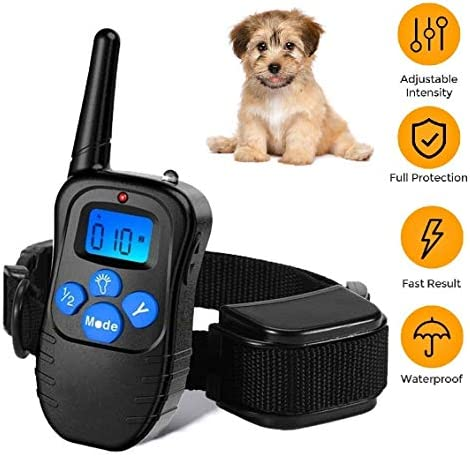 Rechargeable Rainproof Vibration Electronic Collar%EF%BC%8CShock