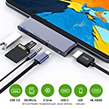 USB C Hub for iPad Pro 2018, USB Type-C to 4K