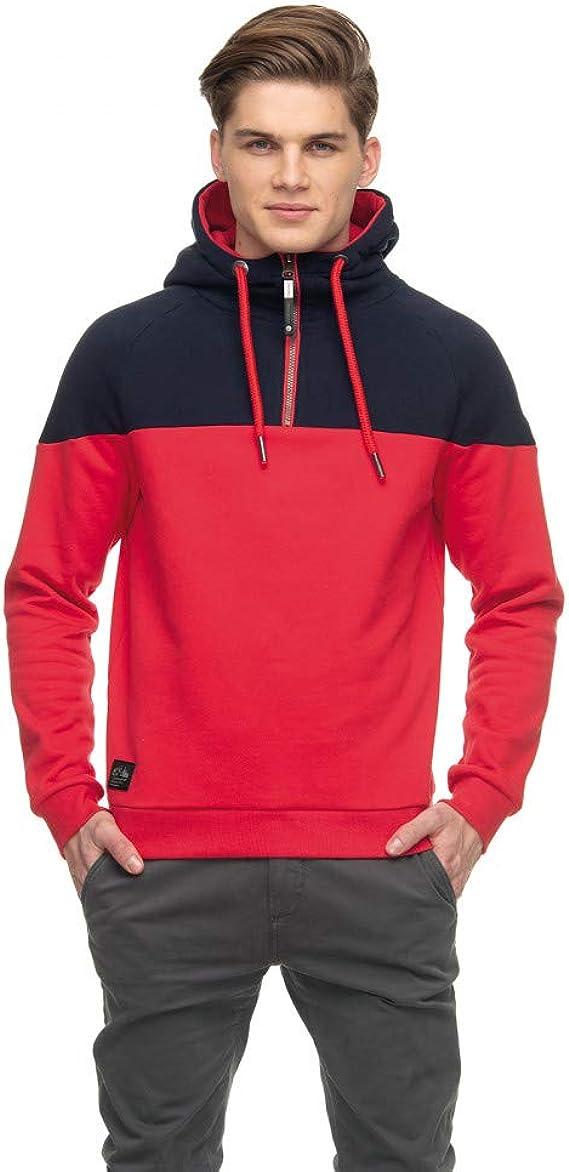 Ragwear Sweat à Capuche Deaan Red: : Vêtements et