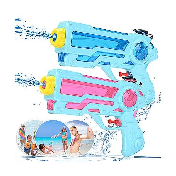 Pistole ad Acqua Giocattolo Pistola per Bambini e Adulti Estivi All'aperto per Divertimento, 350ML Summer Giocattoli… 1 spesavip