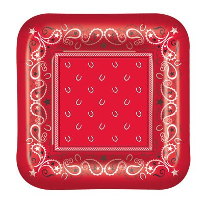 Bandana Plates (square-shaped)    -