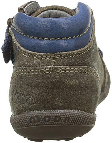 Mod8 Donald - Zapatos de primeros pasos Bebé-Niñas Gris - gris