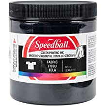 Speedball 8-Ounce Fabric Screen Printing Ink, Black (4560)