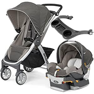 Amazon Com Chicco Bravo Stroller Trio System With