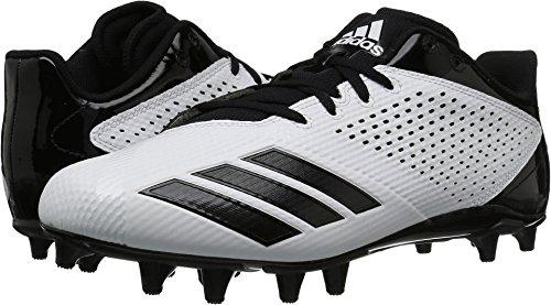 Mid Cut Cleat - adidas Men's Freak X Carbon Mid Football Shoe, White Black, 9 M US