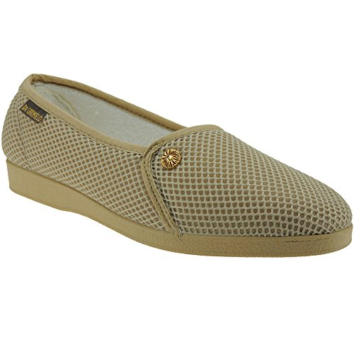 queenfoot Pump6012 - Mocasines de Ante para mujer, color, talla 39 1/3