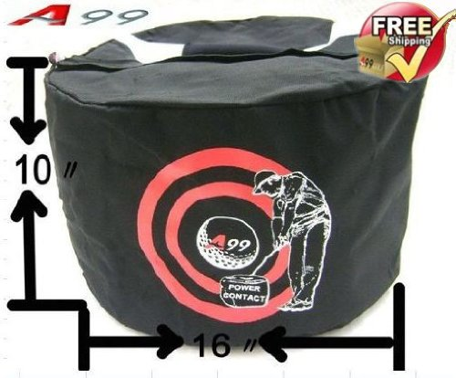 A99 Golf Power Contact Swing Impact Bag Black