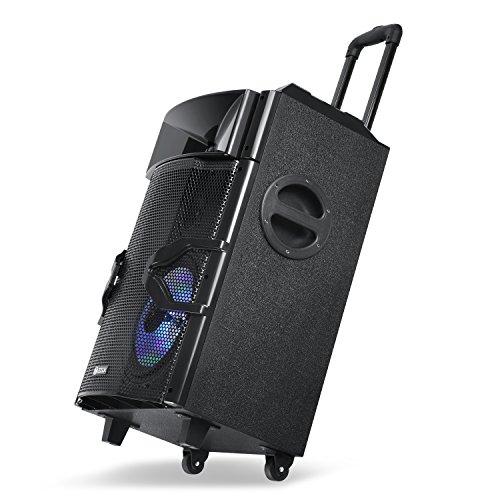 Zoook ZB-Rocker Beatbox PRO Extreme Sound Machine with DJ Mixer PAD & Light  Effects / Bluetooth / FM / USB / Battery / Remote