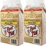 non grain bread - Bob's Red Mill Gluten Free Hearty Whole Grain Bread Mix 2/20oz Bags