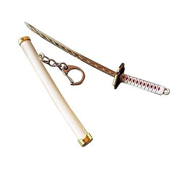 Leezo - Llavero con Diseño de Espada Samurai (15 cm, 7 ...