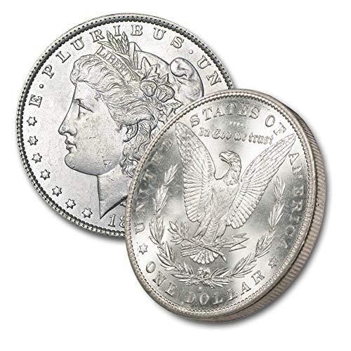 1880 S Morgan Silver Dollar $1 Brilliant ()