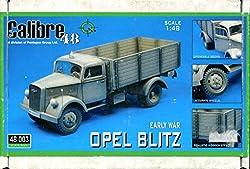 Calibre 1:48 Early War Opel Blitz Resin Model Kit #48003 by Calibre