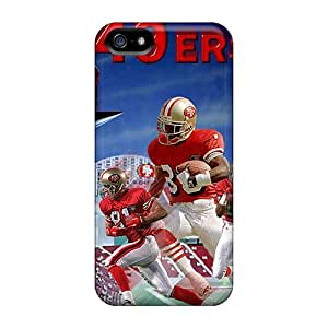 New Diy Design San Francisco 49ers For Iphone 5/5s Cases Comfortable For Lovers And Friends For Christmas Gifts