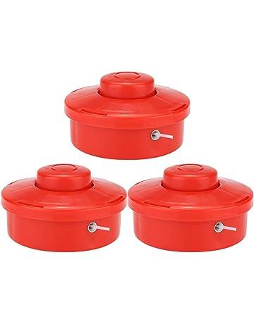 Wifehelper Cabezales Recortadores de Césped Universales Repuesto de Plástico Cortacésped de Jardín Cepillo Cortador Cabeza 3