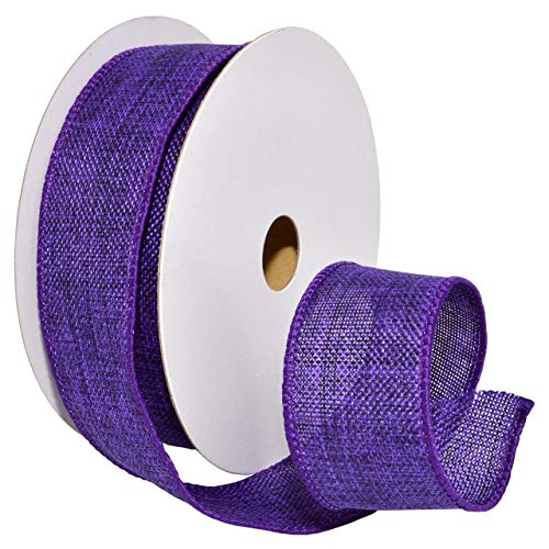 Morex Ribbon 7585 Chelsea Ribbon, 1-1/2 inch by 10 Yards, Purple