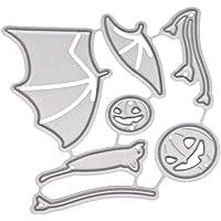 Healifty Murciélago de Halloween Troqueles De Corte de Metal Plantilla de Plantilla de DIY Molde para Álbum Scrapbooking Tarjeta de Papel Arte Artesanía Decoración