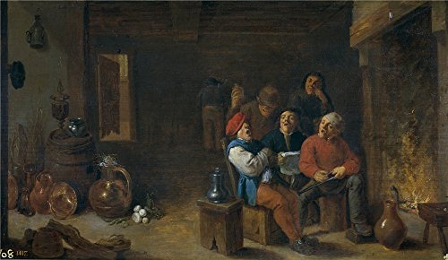 [Oil Painting 'Teniers David Musica En La Cocina Ca. 1633 ' Printing On Polyster Canvas , 12 X 21 Inch / 30 X 53 Cm ,the Best Home Office Gallery Art And Home Artwork And Gifts Is This Imitations Art DecorativeCanvas] (Famous Musical Costume Designers)