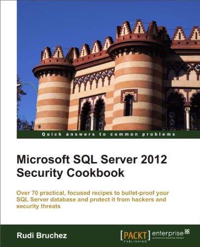 Microsoft SQL Server 2012 Security Cookbook Pdf