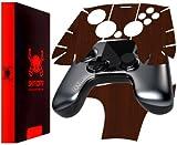 Skinomi Ouya Controller Dark Wood Full Body, TechSkin Dark Wood Skin for Ouya Controller