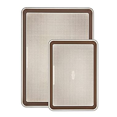 OXO 2 Piece Good Grips Non-Stick Pro Sheet Pan Set, Metallic