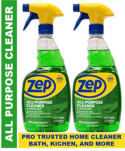 Zep All-Purpose Cleaner and Degreaser 32 Ounce ZUALL32 (Pack of 2) ()