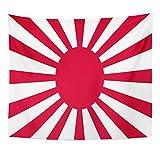 TOMPOP Tapestry Red Japan Japanese Flag