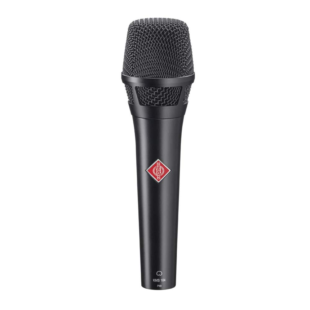 Neumann KMS 104 Plus Condenser Microphone (Black)