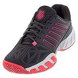 K-Swiss Bigshot Light 3 Womens Tennis Shoe (Magnet/Neon Pink/White, 6.5 M US)