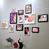 Home@Wall photo frame Nail Shop Photo Wall Background Wall Paintings Beauty Salon Nail Art Cosmetics Shop Decorative Painting Frame Wall (Color : C)