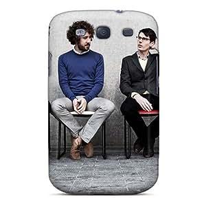 Scratch Resistant Hard Phone Cover For Samsung Galaxy S3 (gbb12467eAjl) Unique Design Vivid Macbeth Band Skin