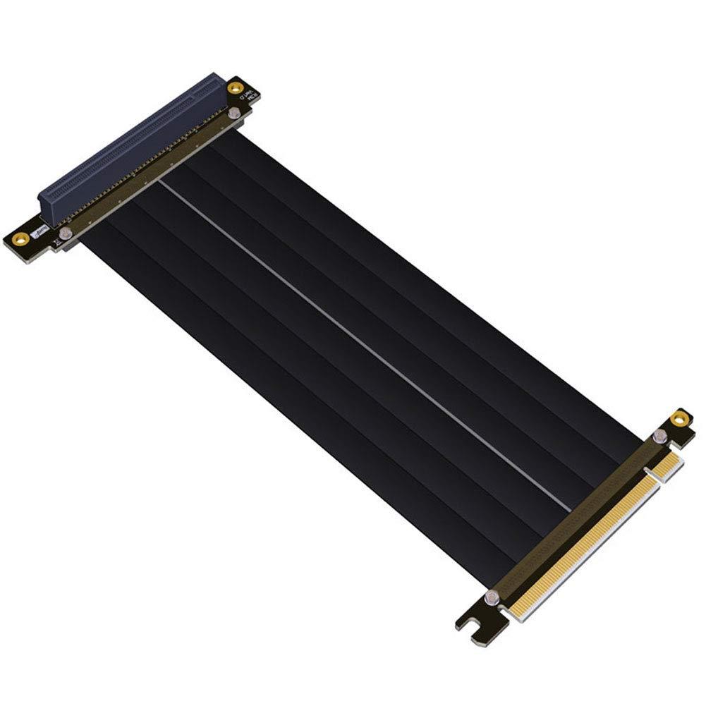 InvocBL PCI Express PCI-E 3.0 16 x câble Flexible Adaptateur de Port d'extension de Carte Verticale Haute Vitesse
