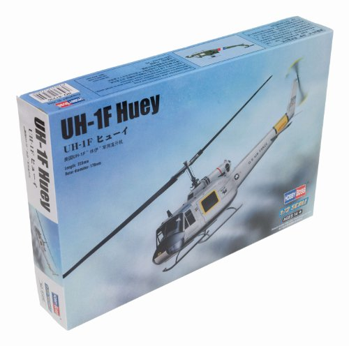 Hobby Boss UH-1F Huey Helicopter Model Building Kit for sale  Delivered anywhere in USA