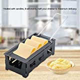 Raclette Cheese,Acogedor Portable Foldable Non-Stick Mini Raclette Grill Home Kitchen Grilling Tool