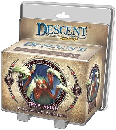 Fantasy Flight Games EDGDJ19 - Lugarteniente Reina Ariad (Descent): Amazon.es: Juguetes y juegos