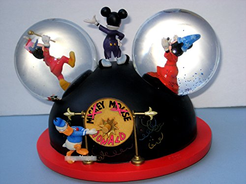 Large Musical Snowglobe - Mickey Mouse Club Musical Snow Globe: Disney Mickey Mouse Through the Years Large Snowglobe