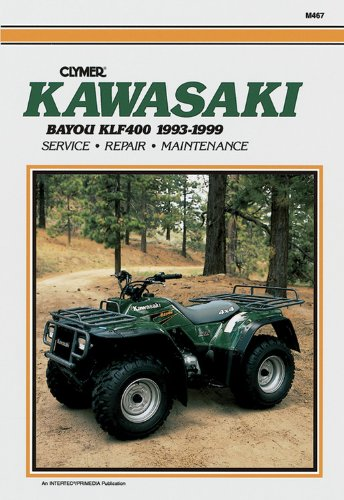 Kawasaki KLF400 Bayou 1993-1999 (Clymer All-Terrain Vehicles) (Manual Repair Atv Kawasaki)