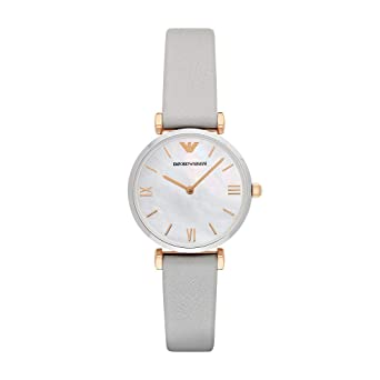 769e45b039 Emporio Armani Woman's Watch - mother of pearl MOP dial