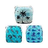 Alva Baby Swim Diapers 3pcs One Size Reuseable