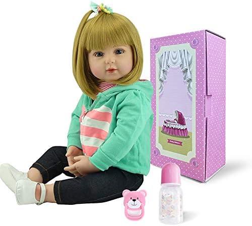 Dummy Magnetic Pacifier Doll Bottle For Reborn Dolls Lifelike Baby Girl Doll